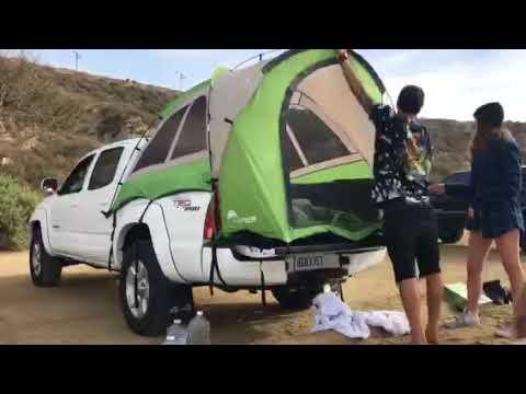 画像: Backroadz Truck Tent Tent Set Up by @that1kidkritter youtu.be
