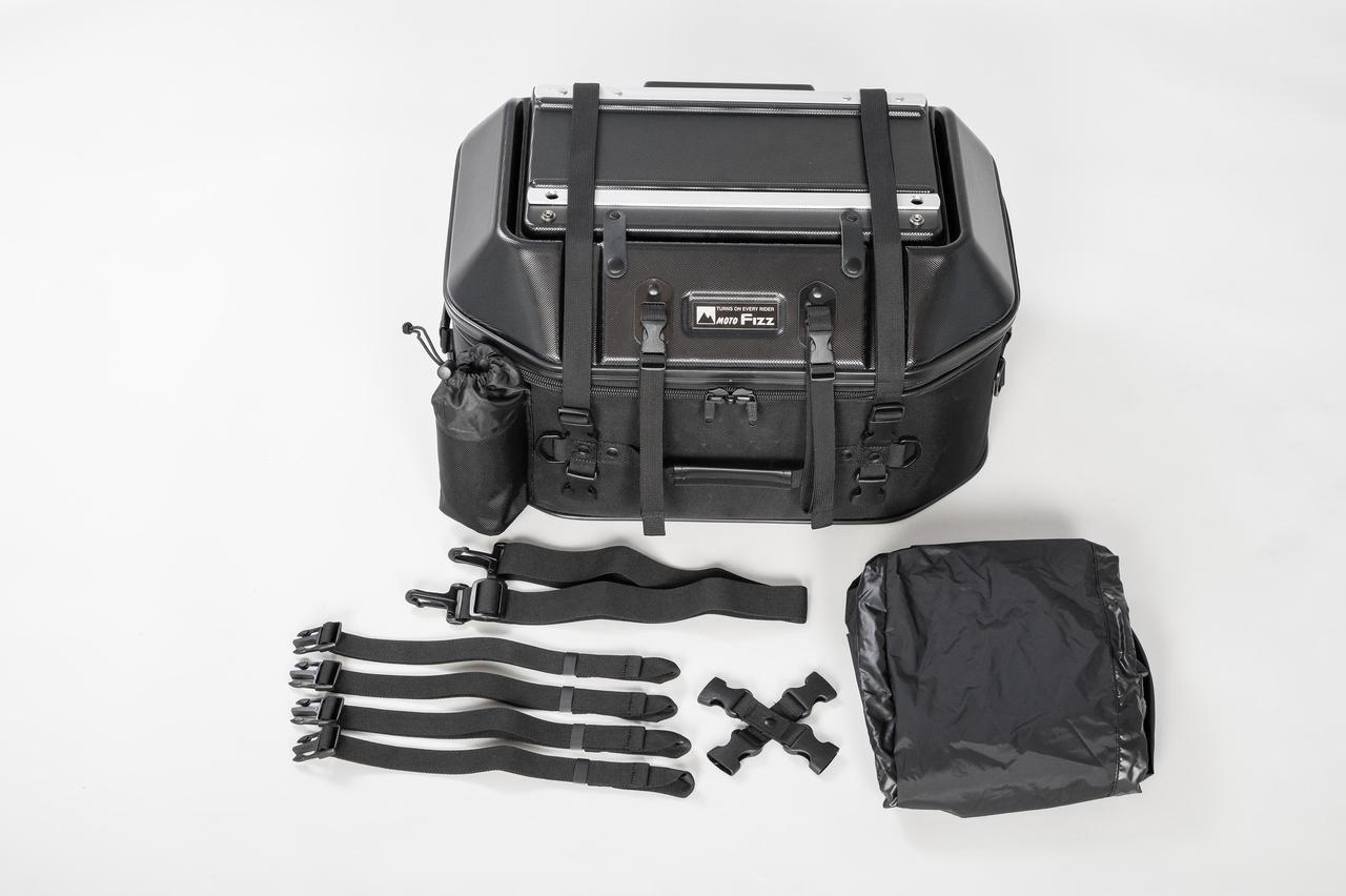 Images : 4番目の画像 - 「このシートバッグは荷物を詰めるだけじゃない。1つで2役、なんとテーブルに変形」のアルバム - webオートバイ