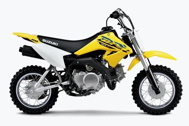 画像: スズキのキッズバイク、DR-Z50の2021モデルがスタイリッシュに