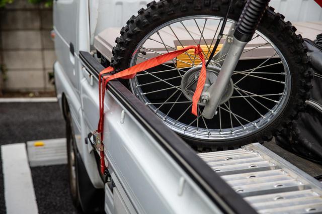 画像4: ダートバイクライフが、拡張する。これは軽トラ革命である