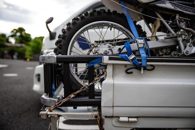 画像1: ダートバイクライフが、拡張する。これは軽トラ革命である