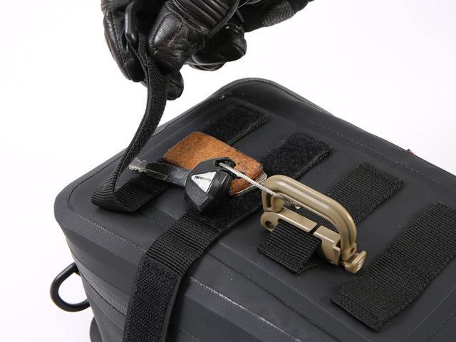画像2: ドッペルギャンガー TARPAULIN TANK BAG TACTICS