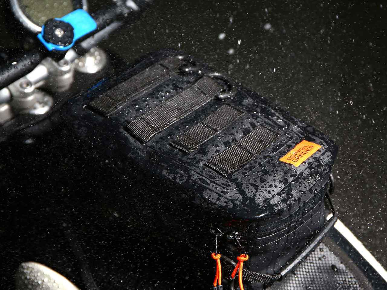 画像3: ドッペルギャンガー TARPAULIN TANK BAG TACTICS