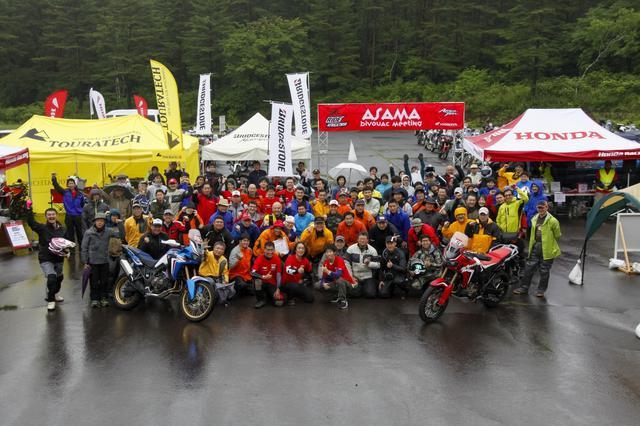 画像: 昨年は梅雨時の開催だったけど、熱きアフリカツイン乗りが集結した