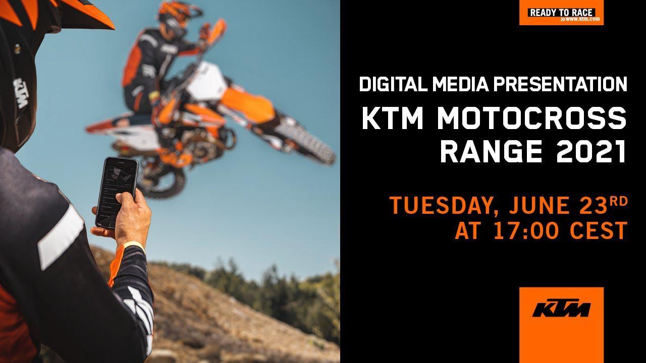 画像: Introducing the 2021 KTM Motocross range   KTM youtu.be