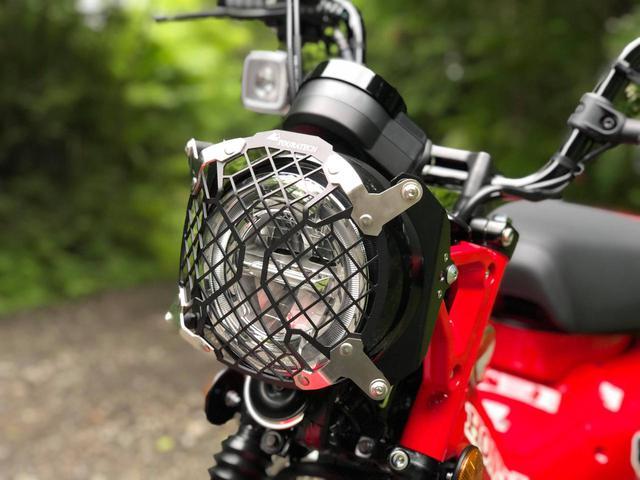画像: TOURATECH ヘッドライトプロテクター クイックリリース付き
