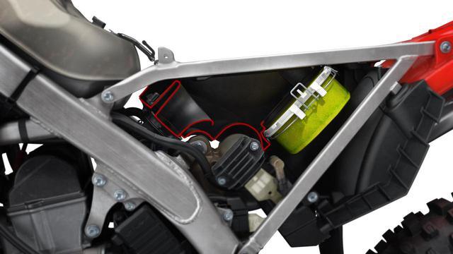 画像2: 車体がコンパクトに、ナローになったうえで、エアボックスが大容量に