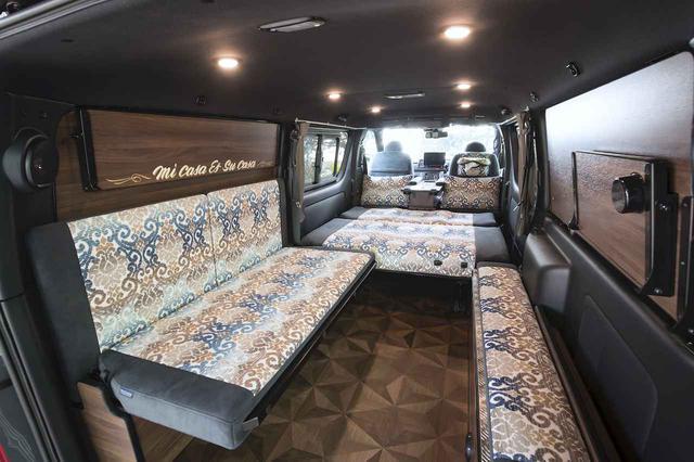 画像: 4ナンバー車の限られた空間に快適機能を盛りだくさん