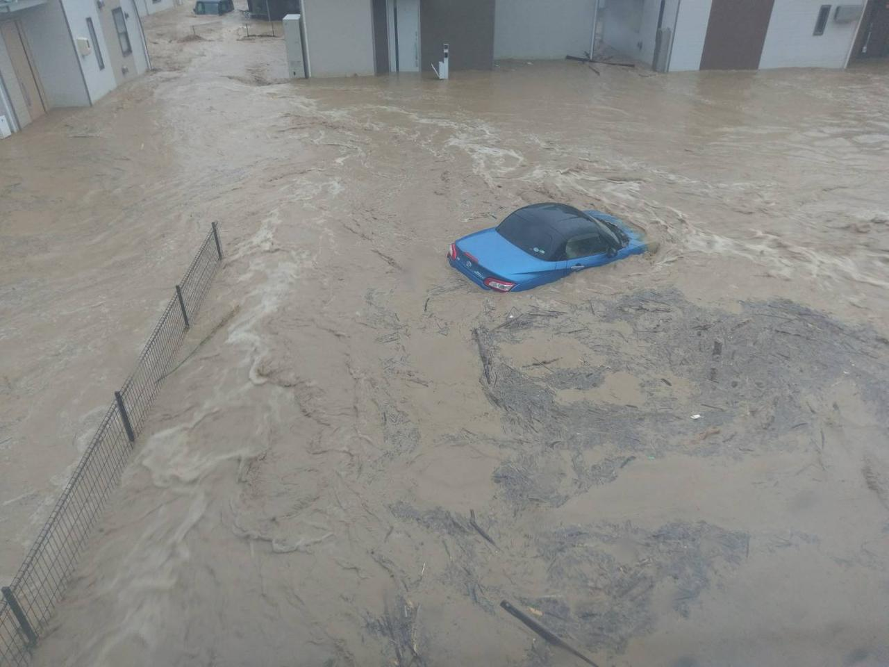 画像: もし、愛車が水害に遭ってしまったら…