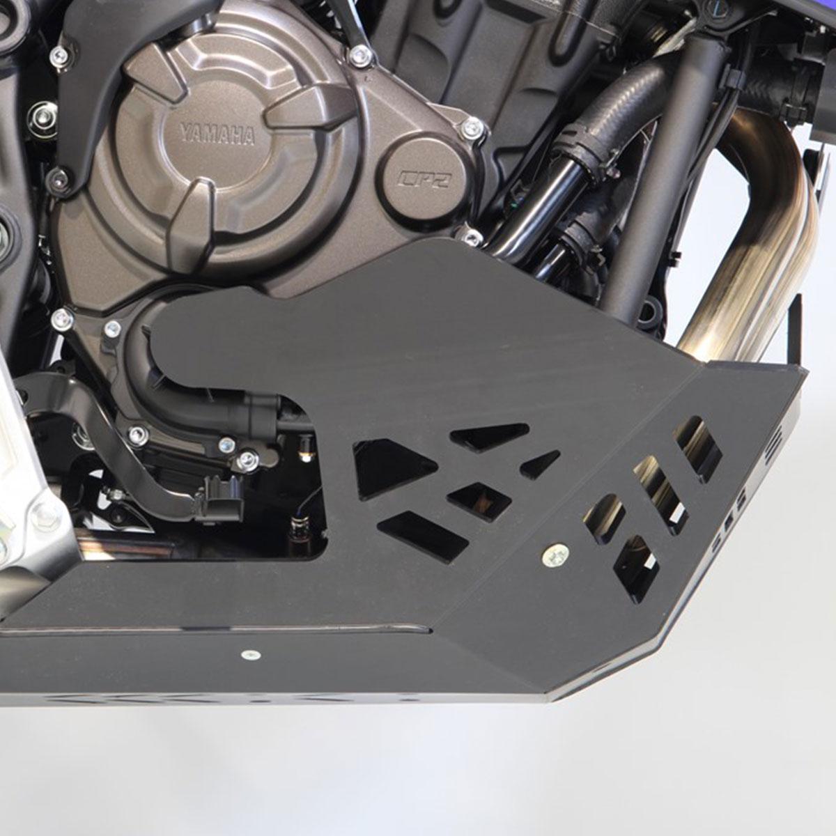 画像3: テネレ700のエンジンを8mm厚の樹脂でがっちりガード