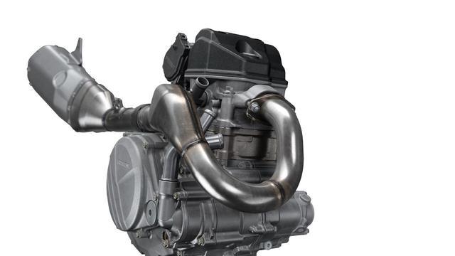 画像4: 低中速トルクに重点をおいたエンジン、さらにエンスト癖も改善か