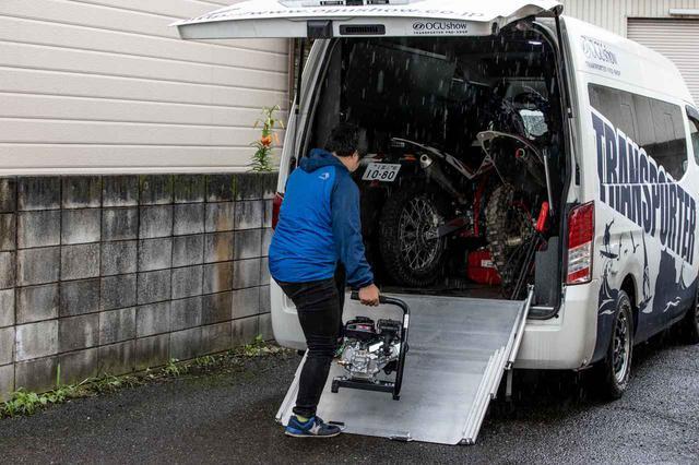 画像2: 半年間で100台売れたエンジン式洗車機、その理由は使ってみたら納得だった