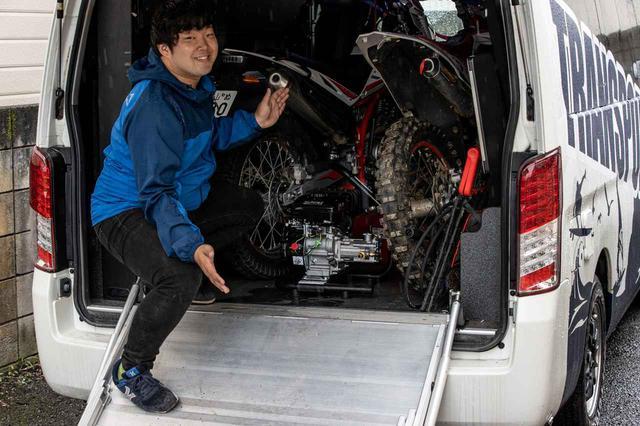 画像3: 半年間で100台売れたエンジン式洗車機、その理由は使ってみたら納得だった