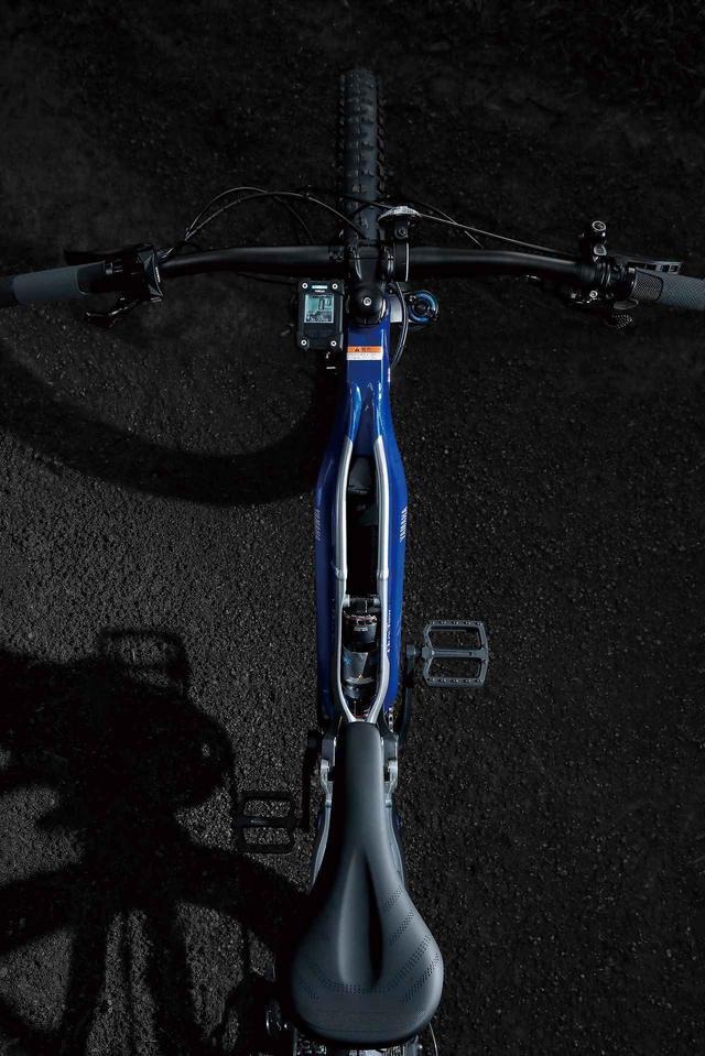 画像2: 新開発「YAMAHA Dual Twin Frame」を採用