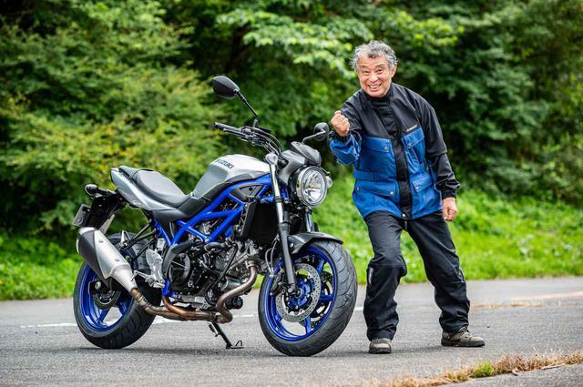 画像: 1947年生まれ、バイクでのアフリカ大陸一周から、世界一周、六大陸周遊、ダカール・ラリー参戦まで果たしたバイク旅人の賀曽利隆さん。70歳を過ぎた今も年間10万kmを走破する生涯現役ライダーがロングインプレッションを行う。その模様は次回にて