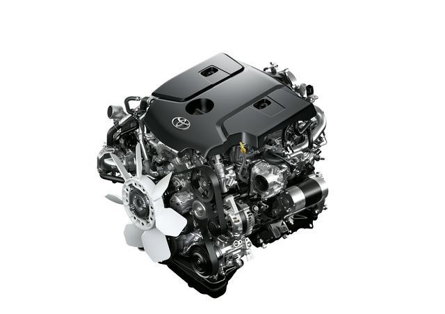 画像1: エンジンは2.8L 2GD-FTVを改良