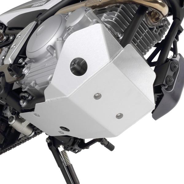 画像2: エンジン下部を包み込む、強固なアルミプレート