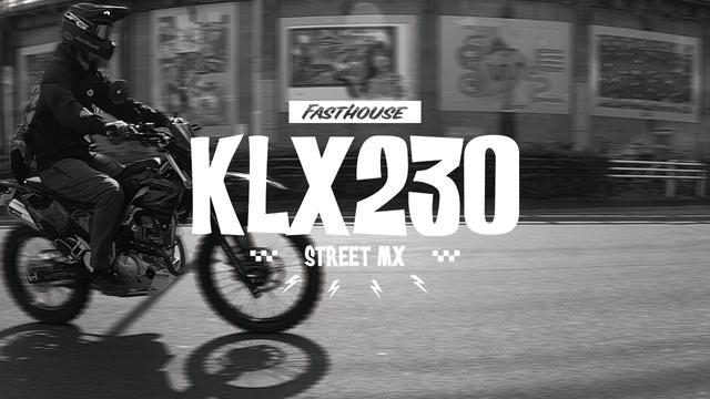 画像: KLX230 ストリートMX カスタム youtu.be