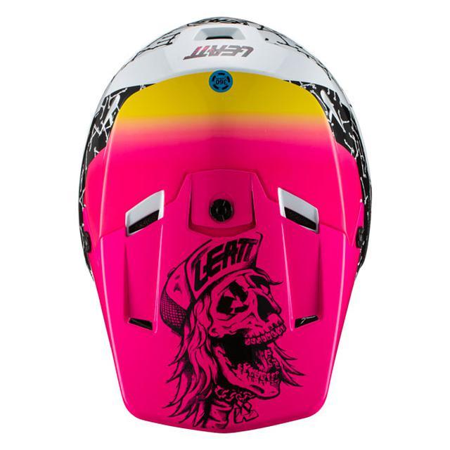 画像3: スカルグラフィック×ネオンカラー、90s路線を突っ走るLEATTの21モデルヘルメット