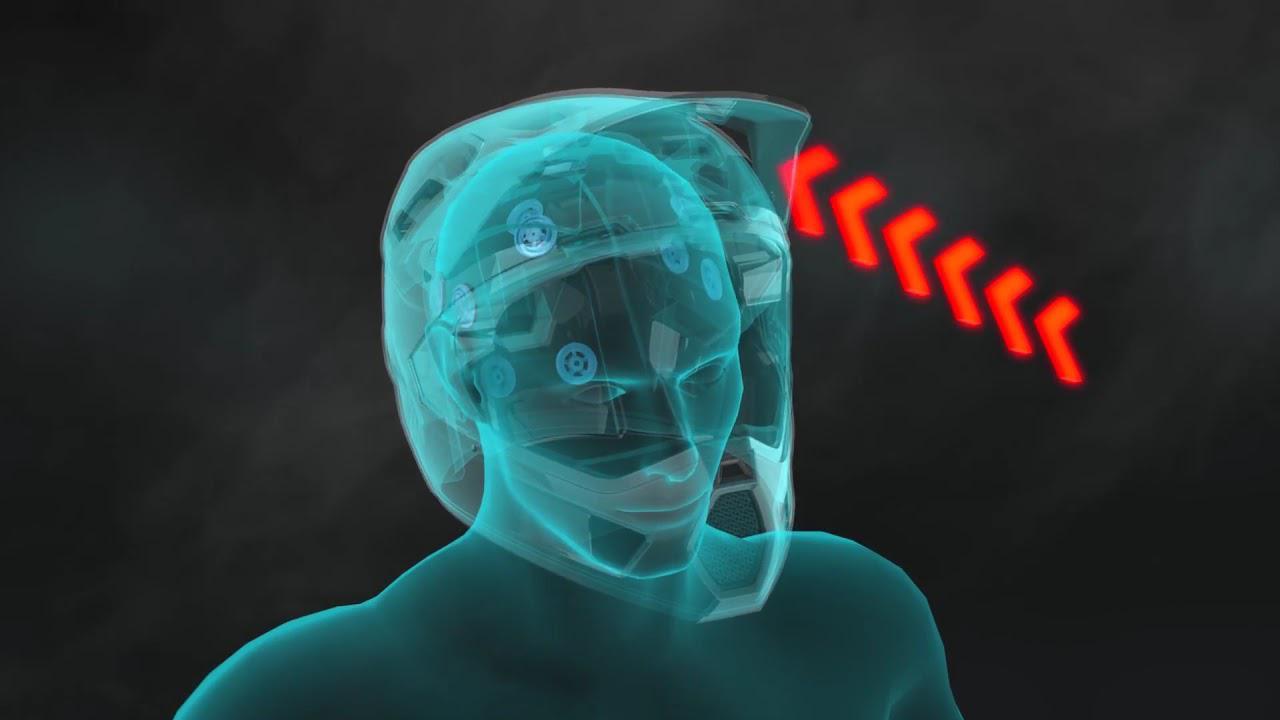 画像: 360 Turbine Technology: Leatt Full-Face Helmets www.youtube.com