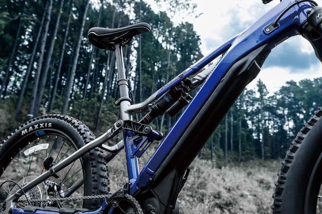 画像2: E-MTB「YPJ MT-Pro」は、まるでYZの懐をめっちゃ深く別物次元までチューンしたようなバイクでした
