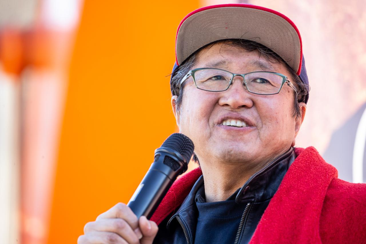 画像: 西日本砕石株式会社 代表、岡 寛さん
