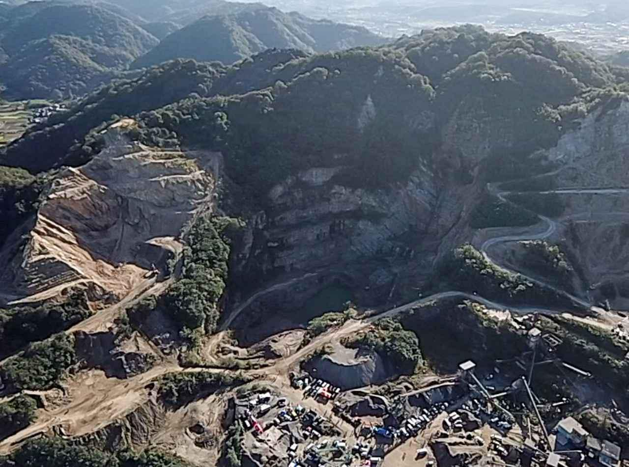 画像: 西日本砕石株式会社、シコクベルグで使用されたコースの一部