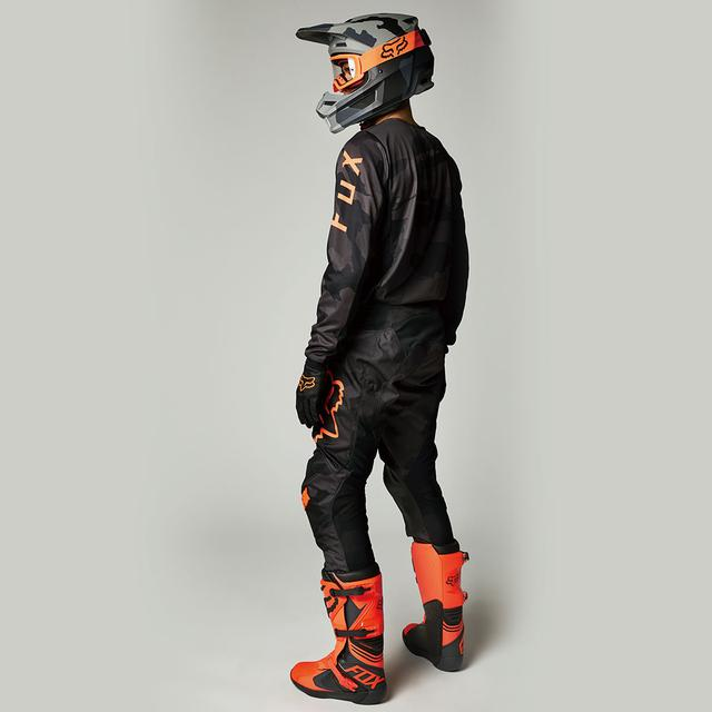 画像6: FOX180ジャージに新色「ブラックカモ」登場 選べるカラーは10種類に