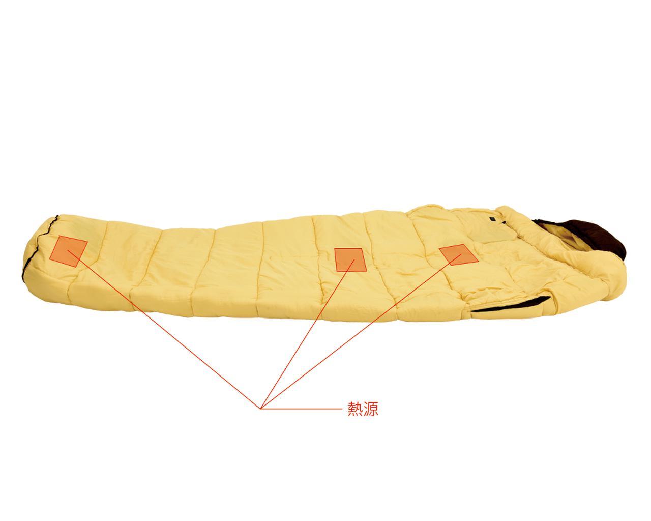 画像3: 冬場は寒くて眠れない? なら寝袋を暖めればいいじゃない