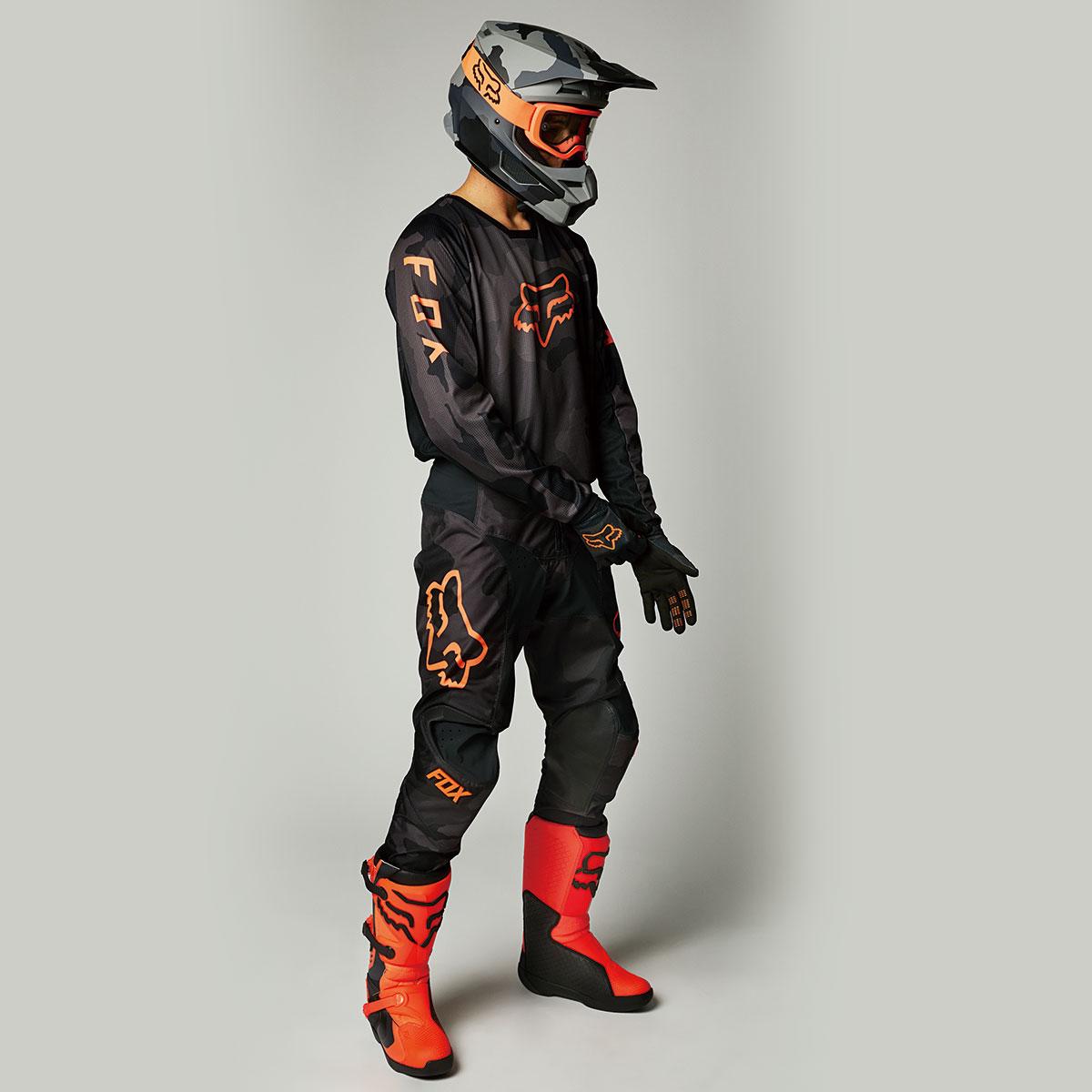 画像5: FOX180ジャージに新色「ブラックカモ」登場 選べるカラーは10種類に