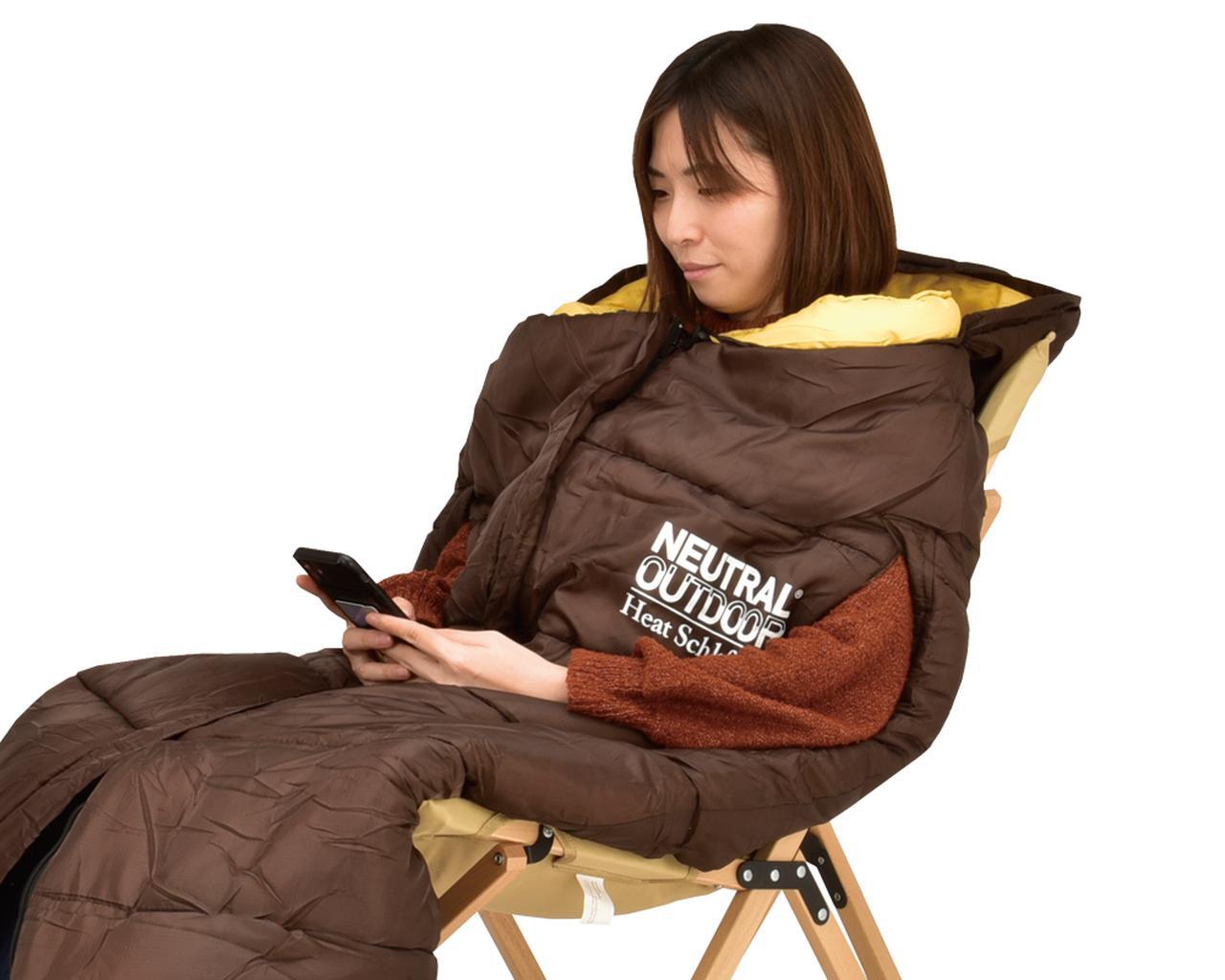画像7: 冬場は寒くて眠れない? なら寝袋を暖めればいいじゃない