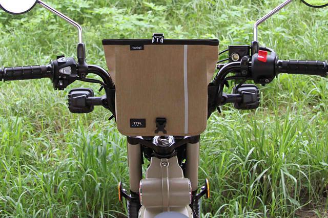 画像3: CT125ハンターカブに欲しかったのはコレ。ハンドル固定の防水ツーリングバッグ