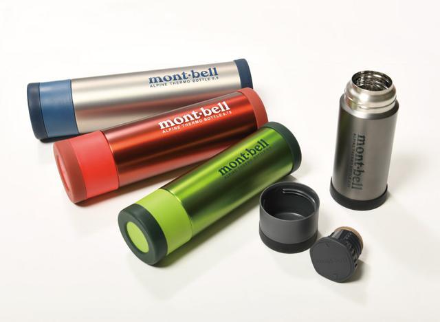 画像: 圧倒的な保温力と軽量性を両立したボトル「アルパイン サーモボトル」(モンベル)