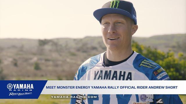 画像: Monster Energy Yamaha Rally Official Team's New Recruit Andrew Short youtu.be
