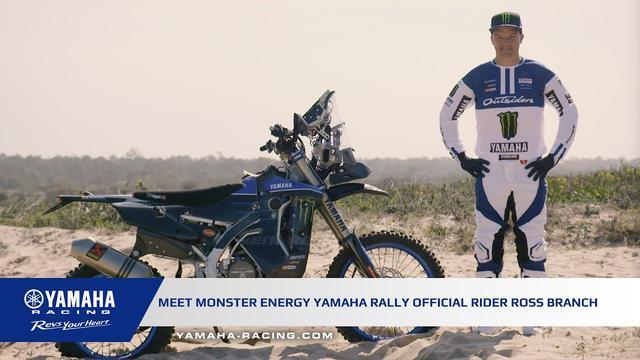 画像: Ross Branch Joins Monster Energy Yamaha Rally Official Team youtu.be