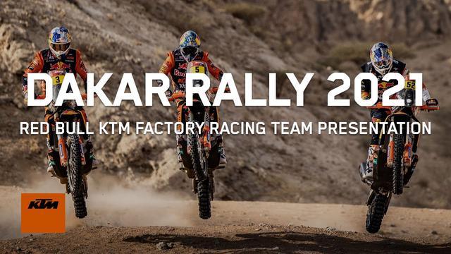 画像: Red Bull KTM Factory Racing - Dakar Rally Team 2021 | KTM youtu.be