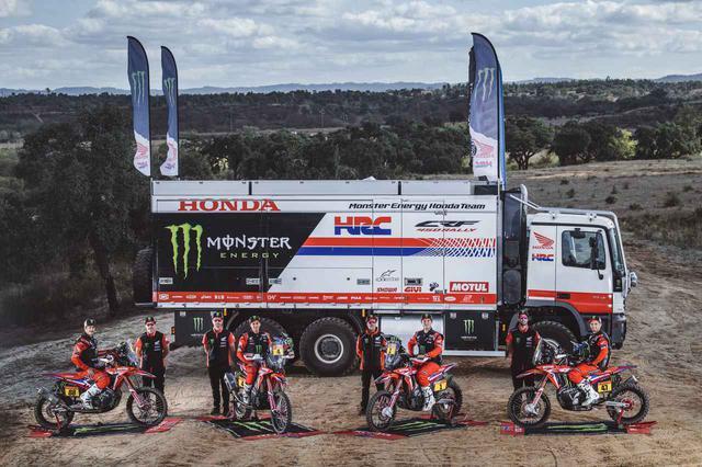 画像: 復帰後、初優勝を果たしたMonster Energy Honda Team