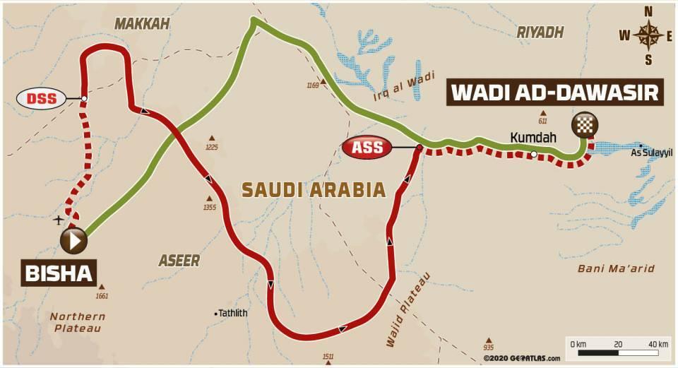 画像: ビジャからワディ・アド・ダワシルまでの685km SSは砂82%、土5%、13%。ほとんどが砂地。