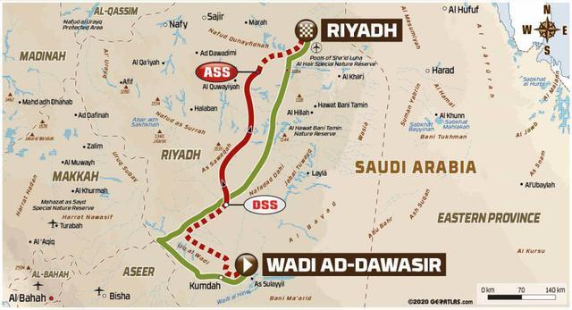 画像: ワディ・アド・ダワシルからリヤドへ向かう