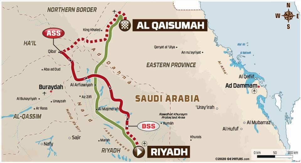 画像: リヤドからアル・カイスマフに向かう