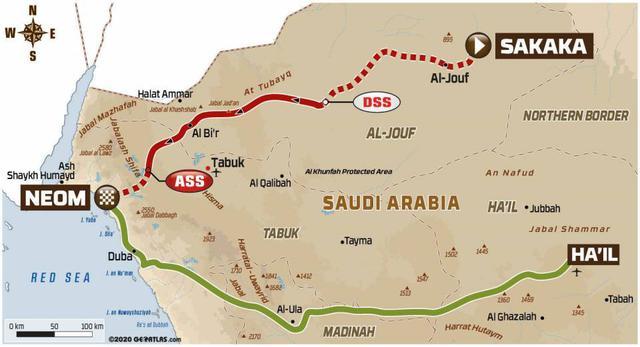 画像: サカーカからネオムへ向かうリエゾン334km、SS375km、計709kmとなるマラソンステージ2つ目のステージ8