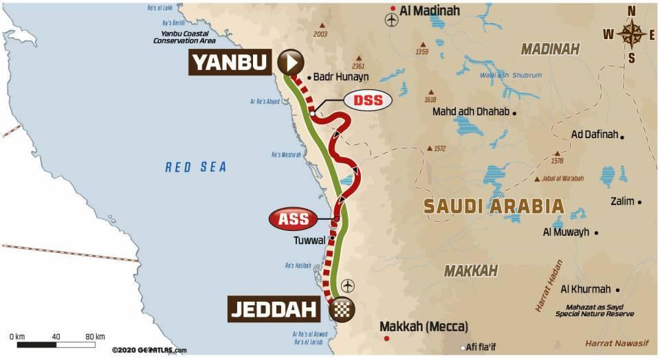 画像: ヤンブからついにスタート地点のジッダに戻る
