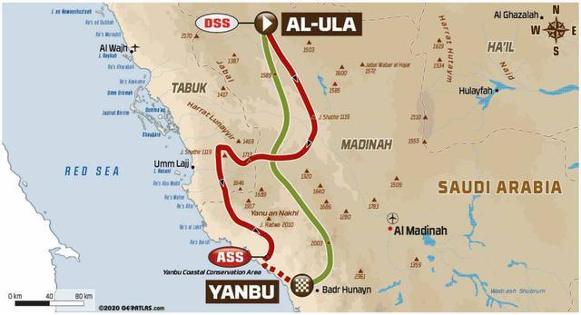 画像: アル・ウラーからヤンブに向かう。