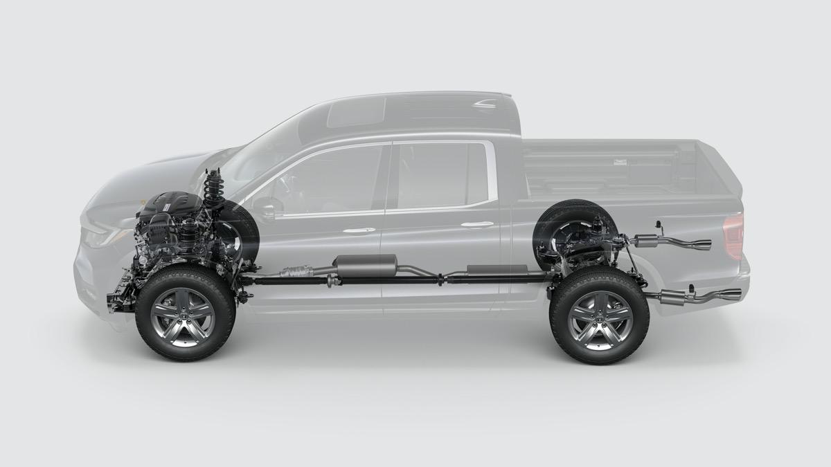 画像4: Honda リッジライン 国内未発表