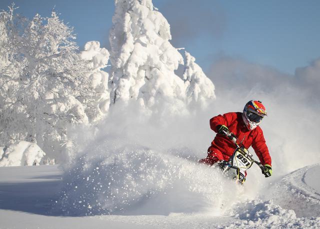 画像: 今冬こそスノーバイク体験「ライダーだけの特別プラン」の提案