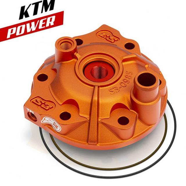 画像: S3エンデューロシリンダーヘッド KTM/BETA/HUSK/SHERCO/GASGAS – MITANI MOTOR SPORTS
