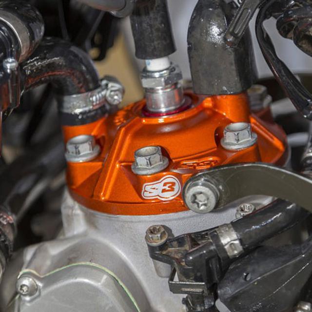 画像3: 圧縮比を手軽に変更、エンデューロに有効なシリンダーヘッドチューン