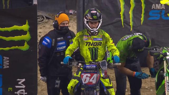 画像: Supercross Round #4 250SX Highlights | Indianapolis, IN, Lucas Oil Stadium | Jan 30, 2021 youtu.be