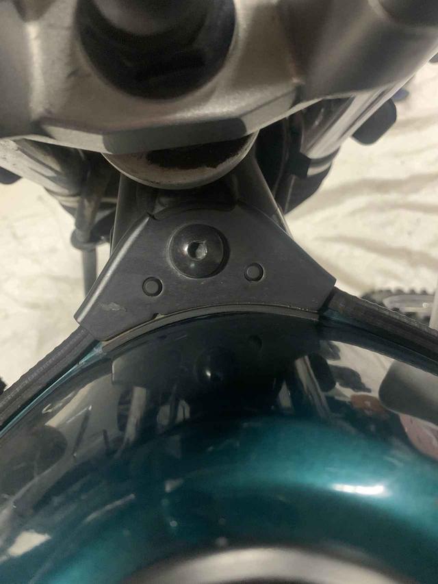 画像4: セロー250を1gでも軽くしたい。実はココにも軽量パーツがあるの知ってました?