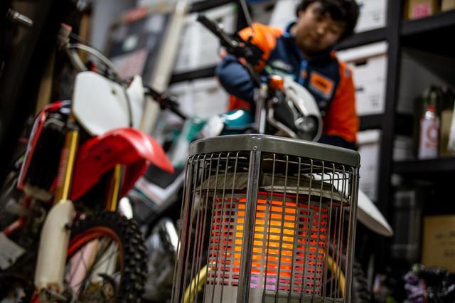 画像: ガレージでの整備は火災に細心のご注意を